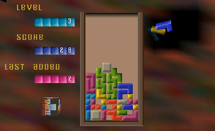 The Next Tetris Gameplay