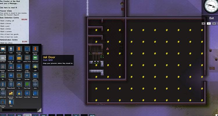 Land Mines Prison Architect Mod