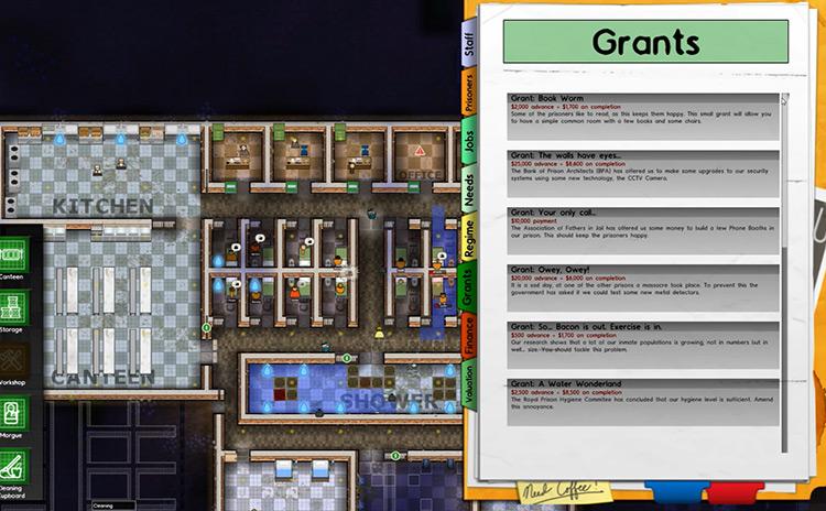 Grants Mod Prison Architect Mod Screenshot