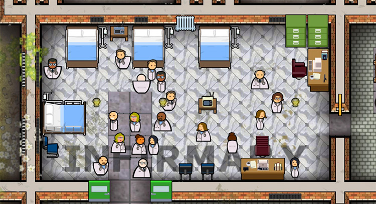 Additional Staff Sprites Prison Architect Screenshot Addon