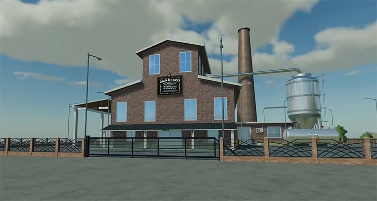 Whiskey Distillery Farming Simulator Mod