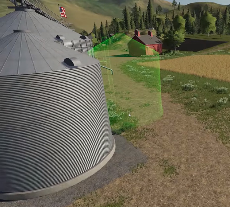 Place Objects Anywhere Farming Simulator Mod
