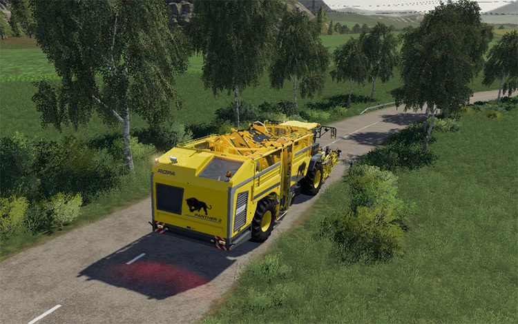 Less Engine Brakeforce Farming Simulator Mod