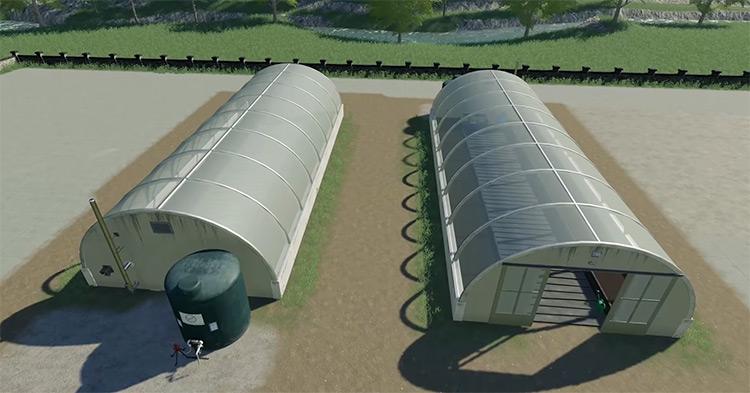 Greenhouse Pack Farming Simulator Mod