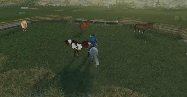 Horse Helpers Farming Simulator Mod