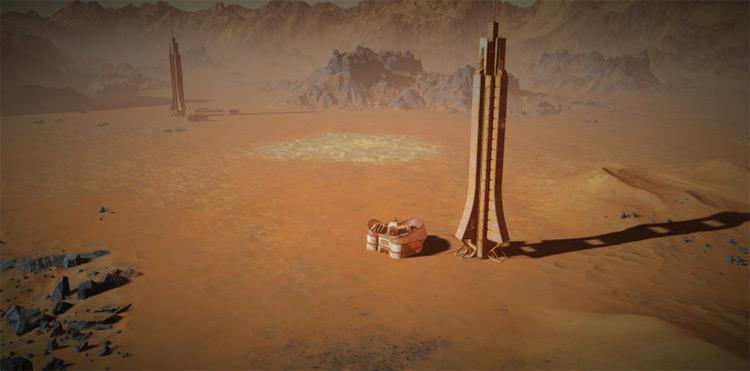 Time Capsule Surviving Mars Mod