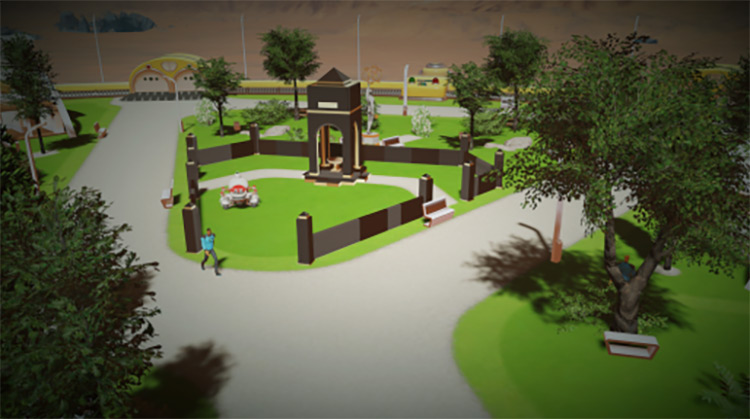 Cemetery Surviving Mars Mod