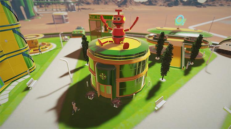 Silva - Toys Store Surviving Mars Mod