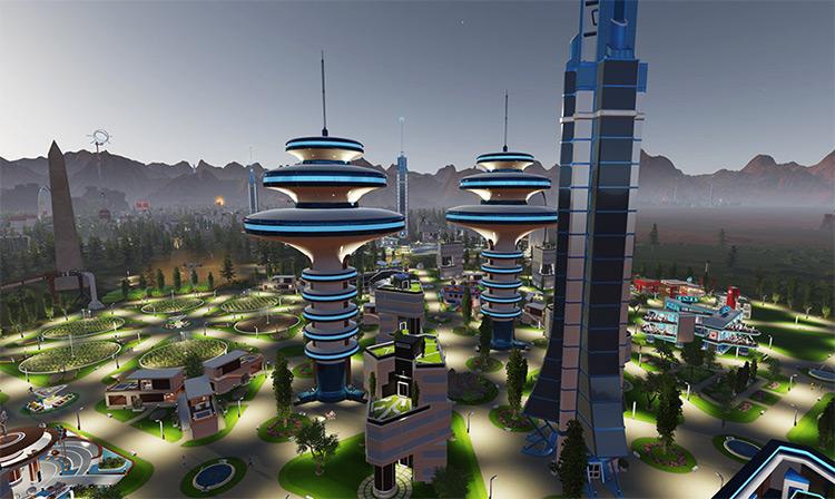 Silva - Mega Apartment Surviving Mars Mod