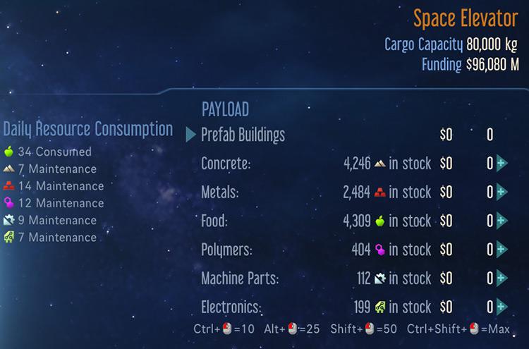 Rocket Stock Surviving Mars Mod