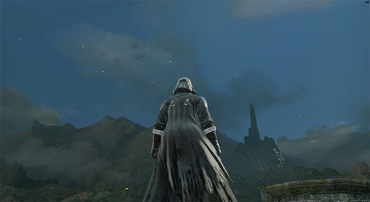 Heide's Tower of Flame Skybox Remix Dark Souls 2 Mod