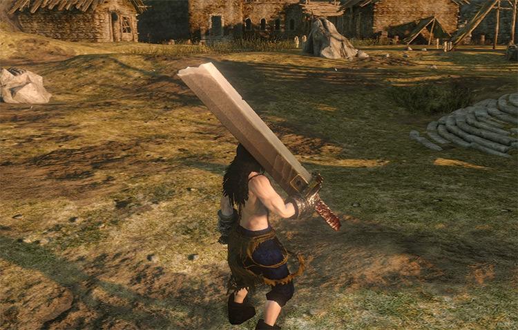 Buster Sword Dark Souls 2 Mod
