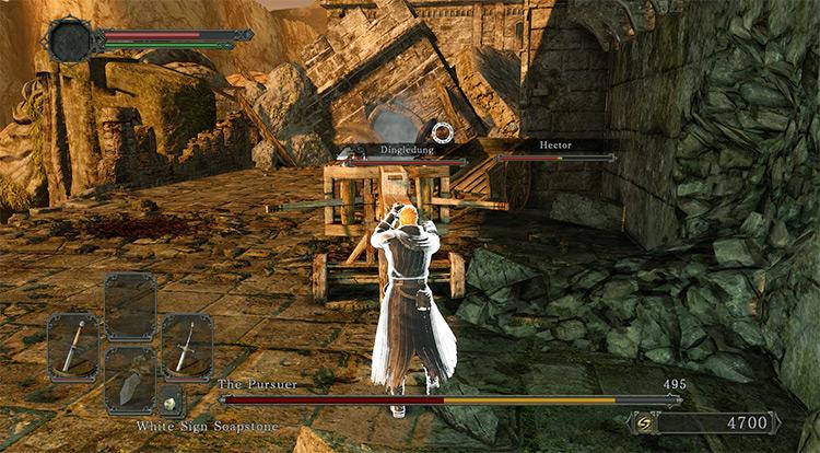 Higher Contrast Bars HUD Mod Dark Souls 2 Mod
