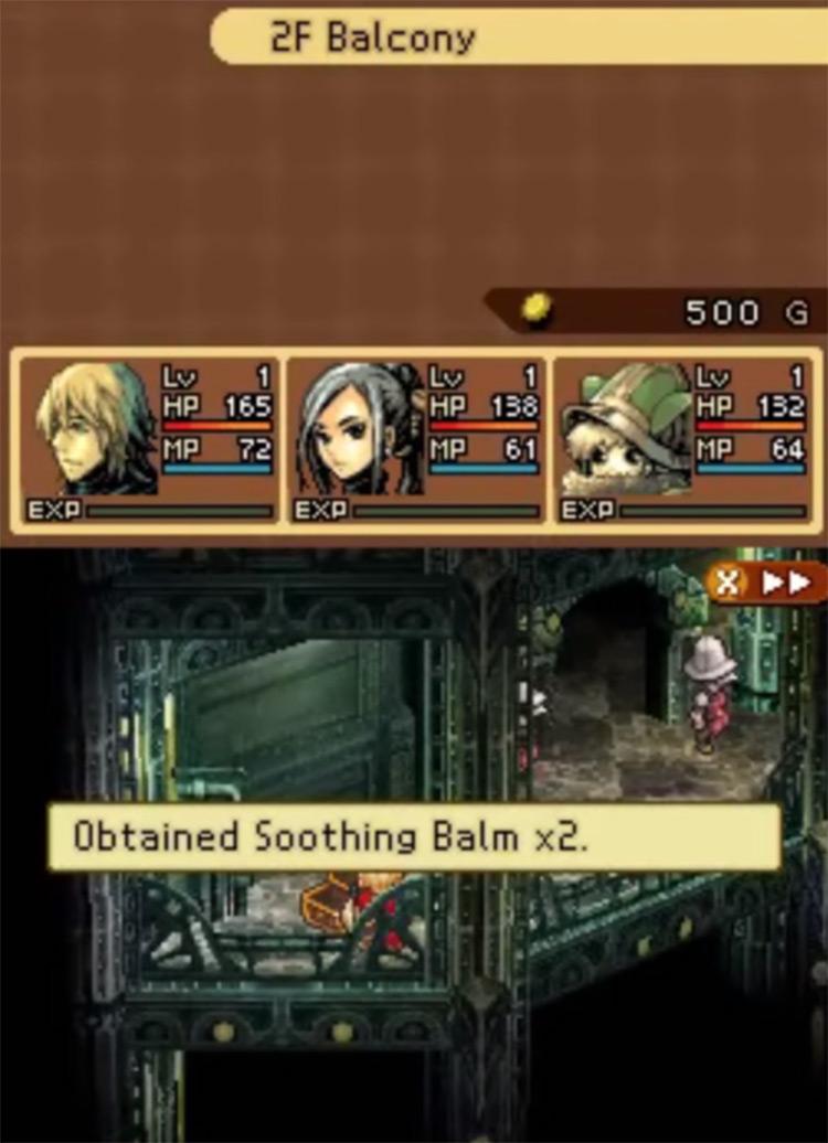 Radiant Historia on Nintendo DS