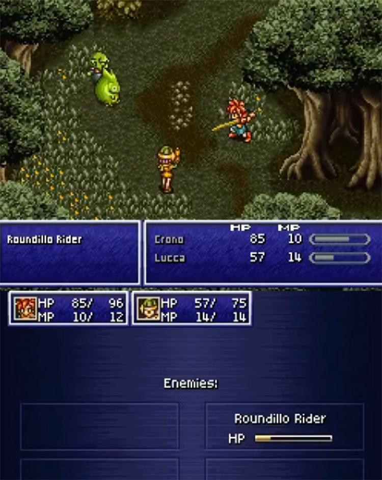 Chrono Trigger NDS Version Screenshot