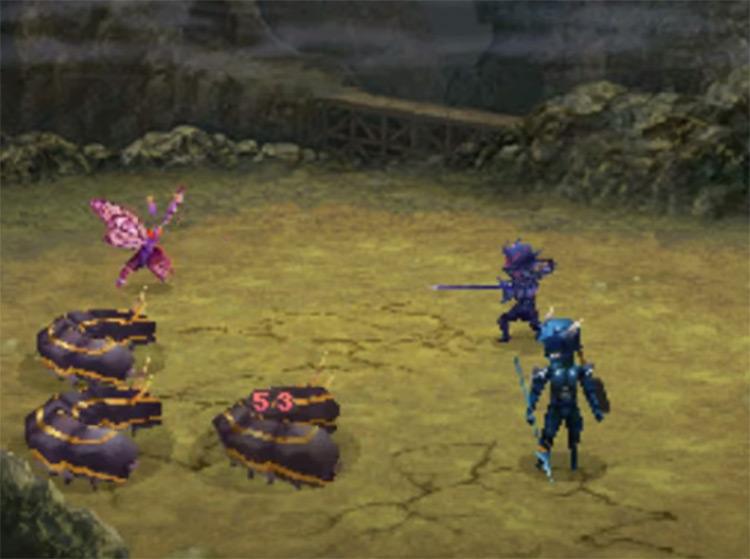 Final Fantasy IV FF4 on NDS Screenshot