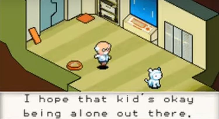 Contact NDS game screenshot