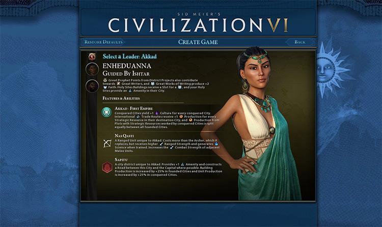 Anno Domini Mod for Civ6