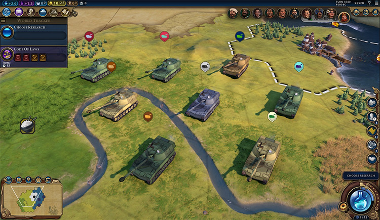 Steel and Thunder: Unit Expansion Civ6 mod