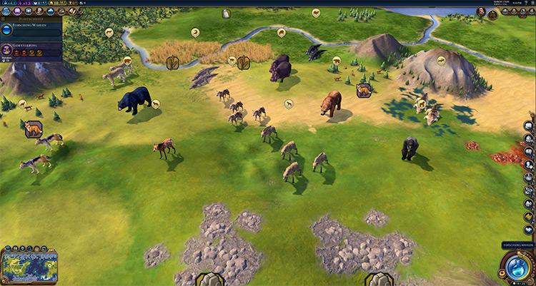 Wildlife Mod for Civ6