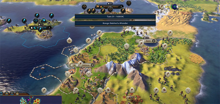 Civilization VI Mod AI+ Screenshot