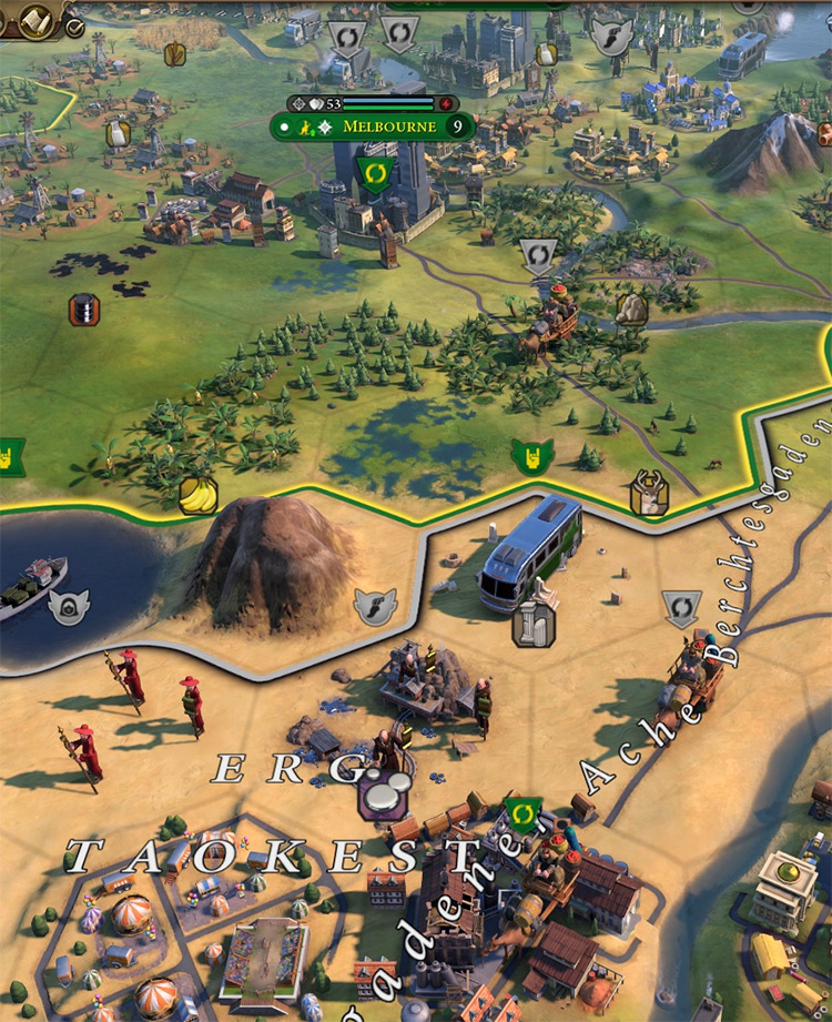 Religious Units Fight Rock Bands in Civ6