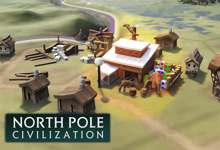 North Pole Civilization Mod for Civ6