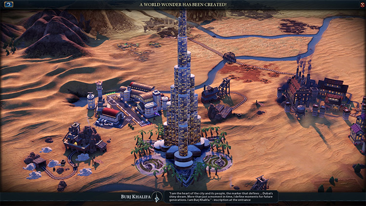 Burj Khalifa Civ6 Additional Mod
