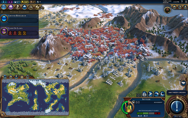 PerfectWorld6 Mod for Civ6