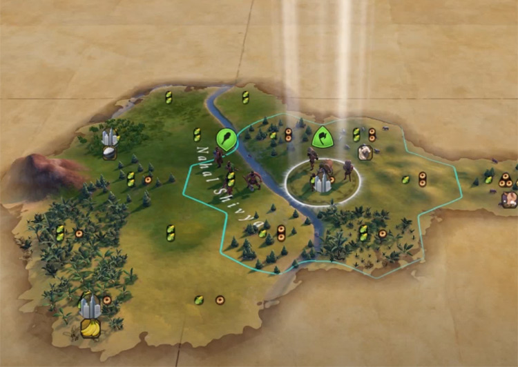 Current Time of Day in Civ6