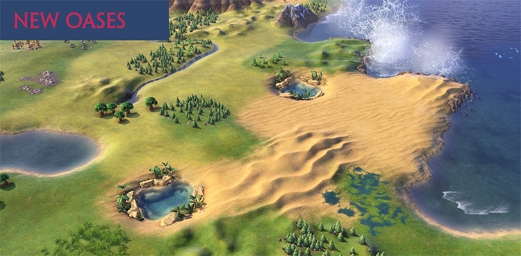 Vibrant Waters for Civ6 mod