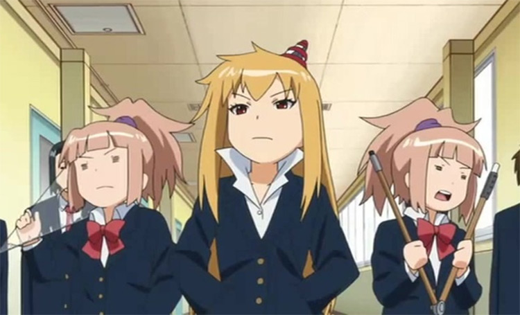 Plastic Nee-San Funny Anime Screenshot Girls