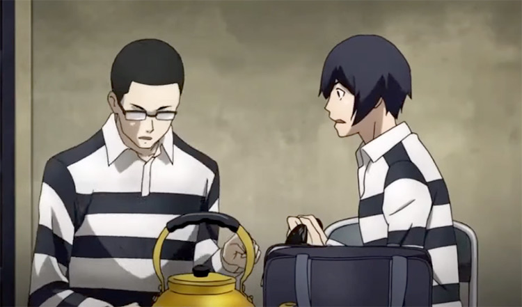 Prison School Guys Anime Screenshot