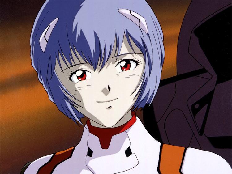 Rei Ayanami Screenshot from Evangelion