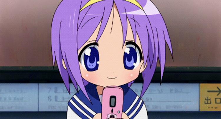 Tsukasa in Lucky Star Anime