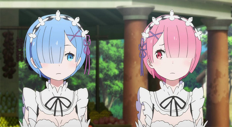 Anime Rem and Ram Characters, Re:Zero