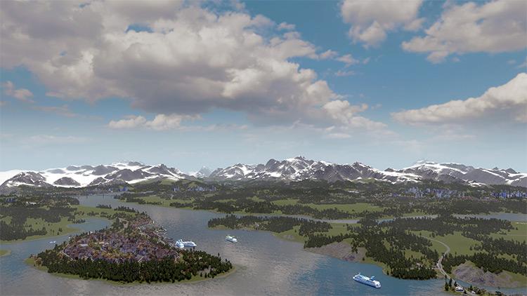 Fjordland Buildoff Map Mod