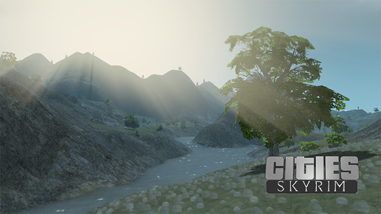 Skyrim For Cities Skylines Screenshot
