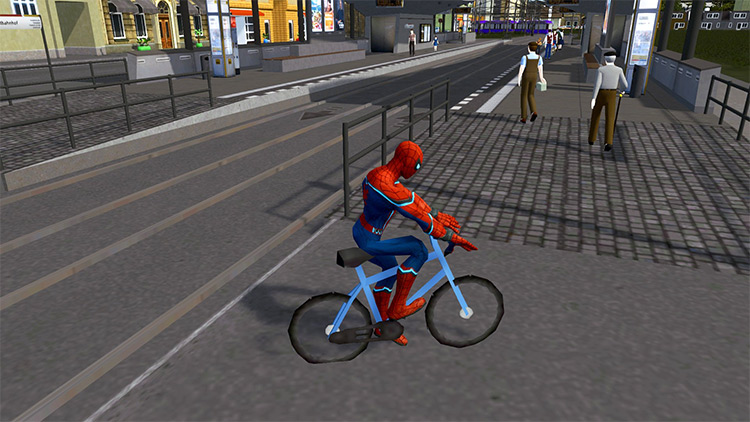 The Amazing Spiderman in Cities Skylines