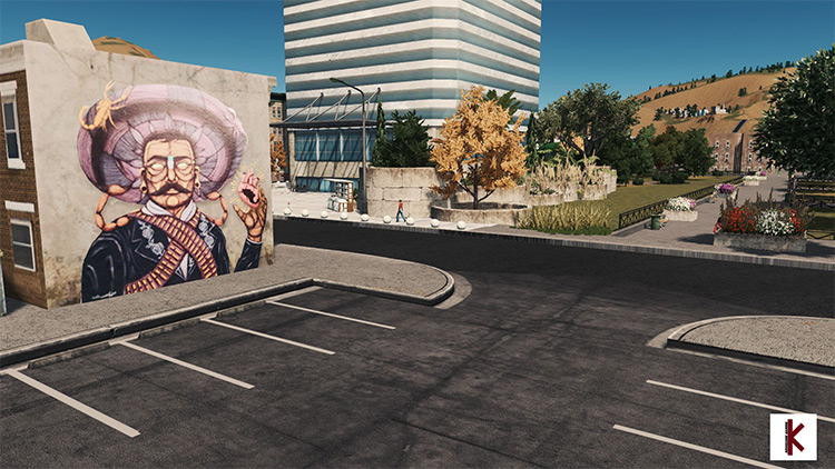 Graffiti & Streetart Megapack Skylines