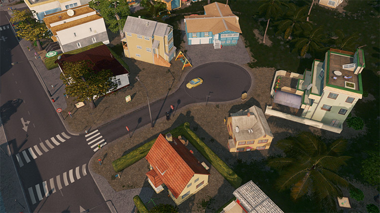 Cul De Sac Mod for Cities Skylines