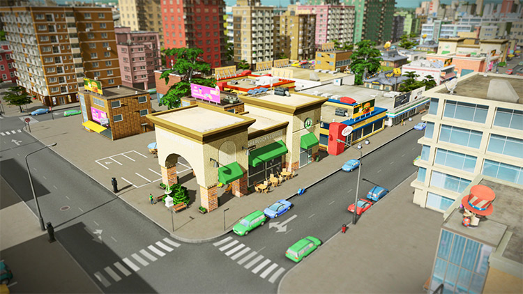 Gula's Starbucks Coffee Cities Skylines
