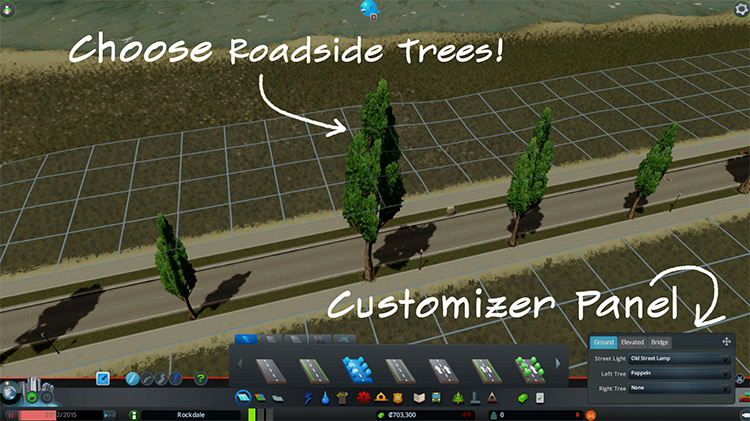 Network Skins Mod for Cities Skylines