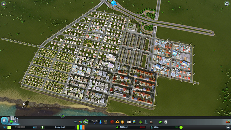 Building Themes in Cities: Skylines