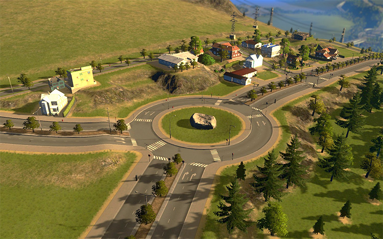 Roundabout Builder for Cities: Skylines