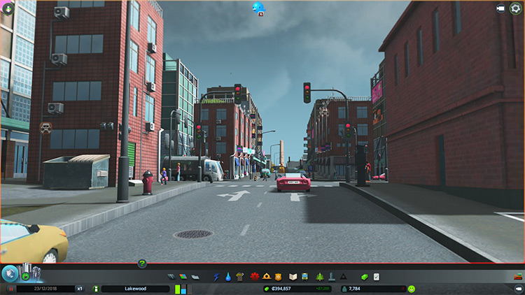 First-Person Camera in Cities: Skylines