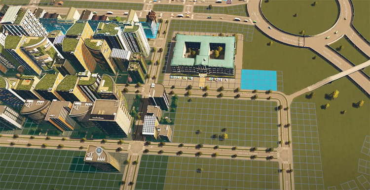 81 Tiles Mod for Cities: Skylines