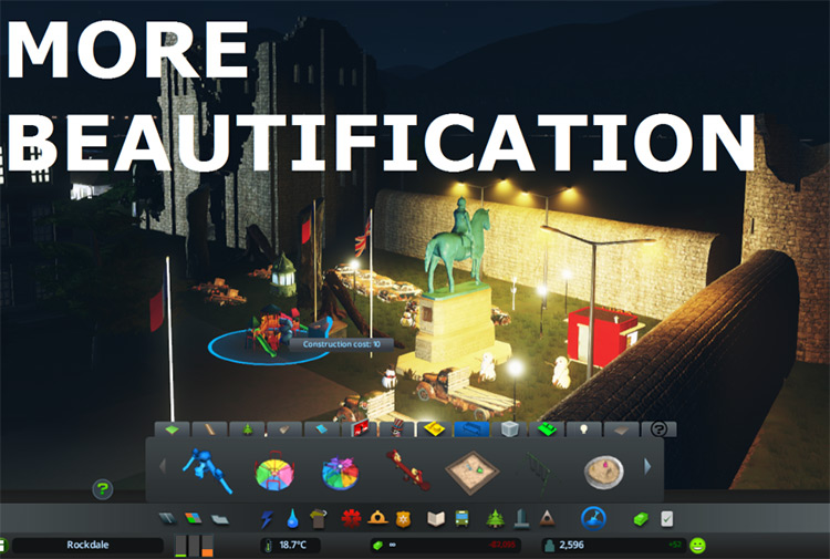 More Beautification Mod for Cities: Skylines
