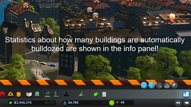 Bulldoze It! Cities: Skylines Mod