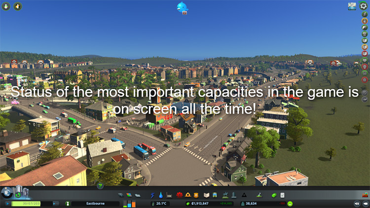 Watch It! Mod for Cities: Skylines
